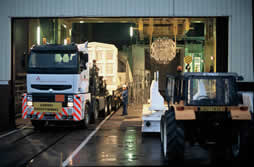 Camión residuos reactor